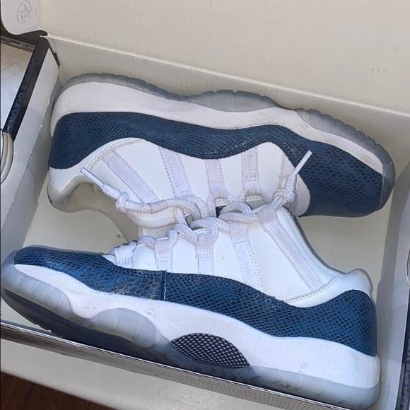 Jordan Shoes | Blue Snakeskin 11s